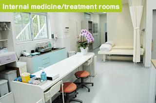 Internal medicine/treatment rooms